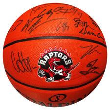 Toronto Raptors Multi Signed Team Spalding Basketball - Kyle Lowry!