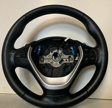 GENUINE BMW 3 Series F30 F31 Paddle Shift Leather Multifunction Steering Wheel