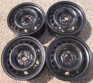 4 gebr., orig. AUDI - Felgen 7,0-16 ET 39 mm Audi A4 Typ B8 B81 OEM 8K0601027A