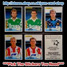 PANINI VOETBAL '93 NETHERLANDS STICKERS (200 - 255) *PLEASE SELECT STICKERS*