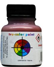 Tru-color Paint Nickel Plate 1938-50 Freight Car Red 1oz Bottle Lacquer #TCP-248