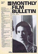 ISABELLE WEINGARTENMonthly Film BulletinAug1979