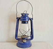 Vintage Antique Kerosene Lantern Oil Lamp Old Made In India Collectible L5