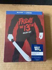 Friday The 13th (2009) Killer Cut Steelbook  Blu Ray NEW & SEALED Rare !!
