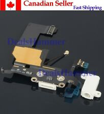 Port Dock Connector Flex Cable for iPhone5 White SHIP FROM CANADA