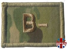 Groupe Sanguin Patch Flash B - négatif Negative Minus MULTICAM MTP