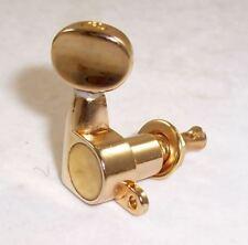 Set di testa ovale piccolo pulsante Macchina Teste 6 in linea a sinistra o a destra o 3x3/oro