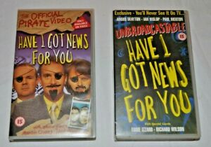 Have I Got News For You VHS Tapes X 2
