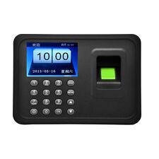 WIFI Wireless Network Biometric Fingerprint Time Attendance Machine