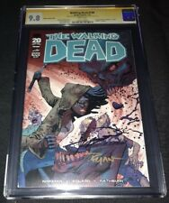 Walking Dead #100 Ottley Var CGC 9.8 2X SS Robert Kirkman and Ryan Ottley