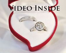 Handmade Round White Gold Fine Diamond Rings