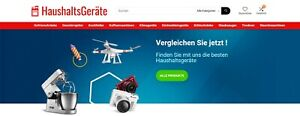 Haushaltsgeräte.net | vollautomatisiertes Affiliate Projekt über Haushaltsgeräte