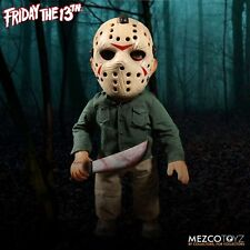 """Mezco Toyz Friday the 13th Jason Voorhees 15"""" Doll Figure With Sound"""