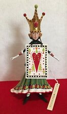 PATIENCE BREWSTER KRINKLES QUEEN OF HEARTS CHRISTMAS ORNAMENT MSRP $133