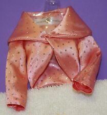 cdb6c03b9fcc7 Vintage Barbie Reproduction 1963 Mode Pak Brillants Satin Rose Paillettes  Boléro