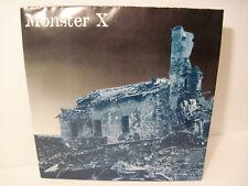 """Vtg 1996 Monster X Attrition RARE 7"""" RED LE Vinyl LP Hardcore PUNK ROCK MINT M"""