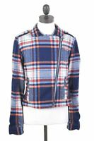 HOLLISTER Womens Jacket Size 10 Small Multi Check Wool