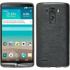 Custodia LG G3 brushed argento Cover G3 in silicone Case