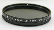 Tiffen- 58mm Polarizer Lens Filter with Case - Used - C865