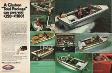 1972 Glastron Boats - 2-Page Vintage Ad