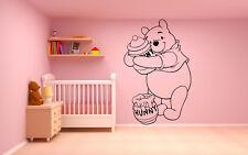 Vinyl Wall Decal Sticker Decor Nursery Winnie the Pooh Cartoon Disney O248
