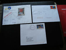 FRANCE - 3 enveloppes 2002 2003 2003 (cy39) french