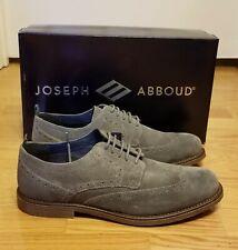 Joseph Abboud Robert Grey Wingtips Size 10