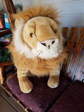 "26"" Tall LION PLUSH ~~ FAO SCHWARZ ~~ FIFTH AVENUE"