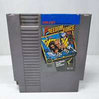 Freedom Force NES 1988 Authentic Game Cartridge Tested & Works