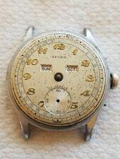 Selling a Used Vintage Rensie Triple Date Calendar Wrist Watch for Repair