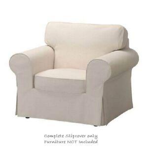IKEA EKTORP Cover for Armchair in Lofallet Beige: 303.216.84 || Brand New