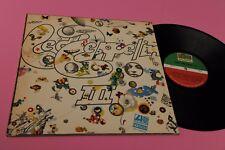 LED ZEPPELIN LP III PRIMA ST ORIGINALE ISRAELE RARISSIMA DEEP GROOVE !!!!!!!!!!!