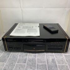 Vintage Pioneer PD-75 Reference CD Player Black Stable Platter Urushi Design VGC