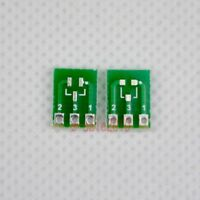 5pcs New Double-Side SMD SOT23-3 to DIP SIP3 Adapter PCB Board DIY Converter F42