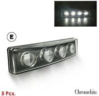 2 pieces JIM JUNIOR THE TRUCK DRIVER trucker white 12-24V light for truck lorry bus van MAN Volvo RENAULT DAF Scania