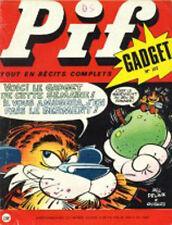Revue en Excellent état  !!!     PIF GADGET (  série 1 )    N° 107