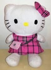 Peluche hello kitty 20 cm pupazzo dolci preziosi gatto cat pink plush soft toys