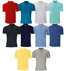 Plain Polo Shirts Short Sleeve S M L XL XXL