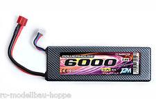 T2M Powerhouse CAR Li-Po Bloc-piles 7,4 V 6000 mAh 45C T1360012B Haute Qualité