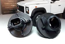 Land Rover Defender Indicador Luz xbp100180 unipolar Bombilla Soporte 2x >1994