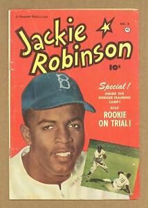Jackie Robinson #5 GD+ 2.5 1951