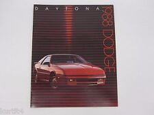 1988 Dodge Daytona Pacifica Shelby Z Original Sales Brochure Catalog