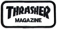 Thrasher Skateboard Magazine Punk Rock Music Skateboard Patch - New Iron/Sew On