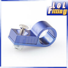 ALUMINUM ALLOY HARD LINE CLAMP ( ID 4.8MM ) HOSE CLAMP BLUE