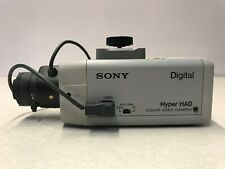 Sony SSC-DC14 Hyper Had Digital Color Video Camera & Computar  2.8-6MM Lens