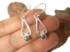 TURQUOISE   Sterling  Silver  925  Gemstone   EARRINGS   -   Gift Boxed!