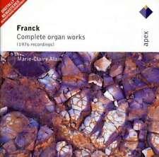 Marie-claire Alain - Franck : Organ Works NEW CD