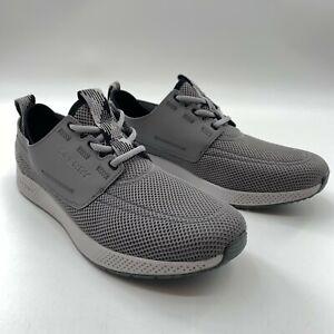 Sperry Men's 7 Seas 3-Eye Sport Cupsole Sneakers Shoes Gray STS23141 Size 11