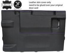 Viola Stitch PORTELLONE PORTA CARD LTHR Copertura Per Land Rover Defender 90 03-17 3DR