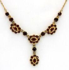 Garnet Necklace Garnet 333 Gold